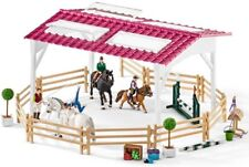 Schleich Horse Club Riding School With Riders & Horses 42389 - Playset - New