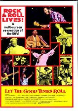Let The Good Times Roll DVD New Factory Sealed & Manufactured NOT DVD-R