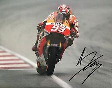 Marc Marquez signed Moto GP 10x8 photo Image A UACC Registered Dealer