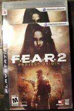 ❄️F.E.A.R. 2: Project Origin (Sony PlayStation 3, 2009) Complete Dust Cover ❄️