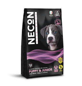 Food for Dogs 3 KG Without Cereal Puppy & Junior Fish, Peas And Favetta