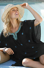 Viscose V Neck Tunic, Kaftan Floral Tops & Shirts for Women