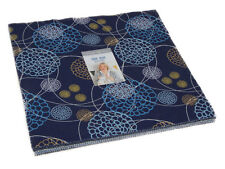 """Moda FABRIC Layer Cake ~ TRUE BLUE ~ by Zen Chic 10"""" squares"""