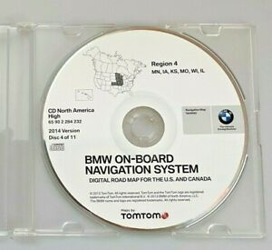 BMW On-board Navigation System Region 4 by TomTom (2014)