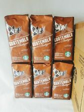 6 Starbucks Guatemala Antigua Whole Bean Coffee Medi roast 1lb BBD 17March 2020