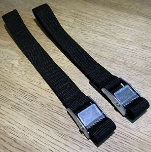 Replacement straps for Thule RideOn 9402/9502 Pop Top Bike 973 Rack Straps X 2
