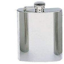 Silver Stainless Steel Flask Rothco 645