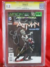 DC Comics BATMAN #17 Batman CGC SS 9.8 SIGNED BY SCOTT SNYDER & GREG CAPULLO