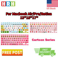 Cartoon Silicone Keyboard Cover Skin Protector for Apple MacBook Air Pro13 15 17