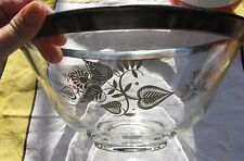 Georges Briard Silver Rimmed Salad  / Chip Bowl