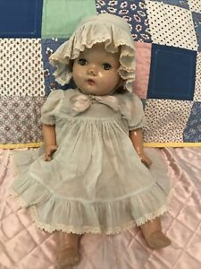 Vintage Composition Baby Doll Who Cries