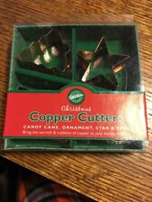Wilton Christmas Mini Copper Cookie Cutters 4pk. 2308-3066