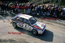 Didier Auriol Lancia Delta Integrale Winner Monte Carlo Rally 1992 Photograph 3