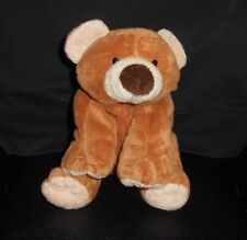 TY PLUFFIES 2002 SLUMBERS BABY BROWN TEDDY BEAR CUB STUFFED ANIMAL PLUSH TOY