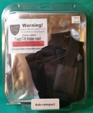 NEW Telor Tactical T-Fit Ankle Holster SUB COMPACT TTTF-70008 RIGHT HAND Insert