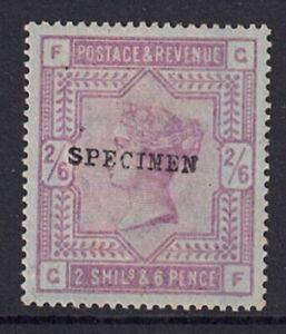QV 1883-84 SG 175 on Blued paper (Specimen) Cat £625