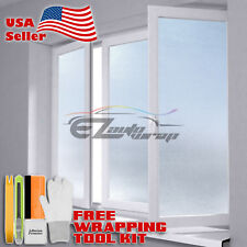 *Premium Frosted Film Glass Home Bathroom Window Security Privacy Sticker #01