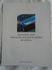 Volvo 940 Horizont brochure Jun 1996 German text