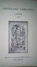 Manoscritto 1932 Castiglion Fiorentino- Ricerca araldica stemmi famiglie Arezzo