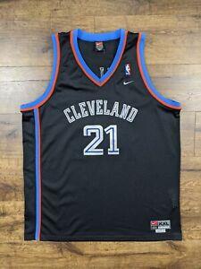 Vintage Nike Swingman Cleveland Cavaliers Darius Miles Jersey Size XX-Large