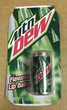 Mountain Dew original con licencia de bálsamo para labios Nuevo Novedad Regalo Regalo impresionante Soda puede