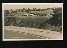 Somerset ST AUDRIES BAY Camp Used 1937 RP PPC