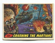 1962 Topps Mars Attack #51 Crushing the Martians VG