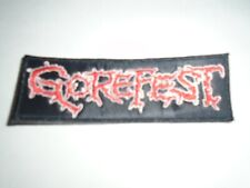 GOREFEST DEATH METAL EMBROIDERED PATCH