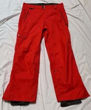 686 Mannual Red Skiing Snowboarding Pants Men's Size Large Euc
