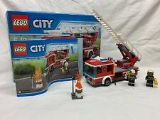 LEGO 60107 Camion pompier grande échelle COMPLET
