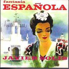 rare BOLERO 60s 70s CD slip JAVIER SOLIS fantasia española SILVERIO suerte loca