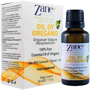 OREGANO ESSENTIAL OIL (100% UNDILUTED) - 30ML