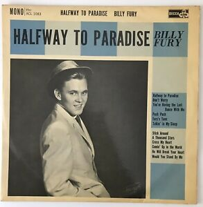 """BILLY FURY - 1961 - """"HALFWAY TO PARADISE"""" - Decca Ace Of Clubs ACL1083 *EX/VG+*"""