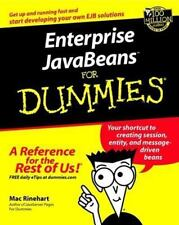 ENTERPRISE JAVABEANS FOR DUMMIES - NEW PAPERBACK BOOK