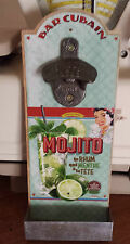 "Decapsuleur mural decoration vintage ""mojito""natives creations"