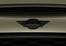 * MINI ORIGINAL * Badge Logo Capot / Front Emblem * BLACK * F56 F57 COOPER S JCW