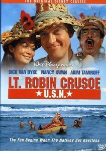 Lt. Robin Crusoe U.S.N. [New DVD]