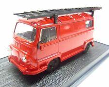 * 1/43 * Del Prado * 1970 Renault CTU Fire Dept Assist Unit Van * Pre Pro *