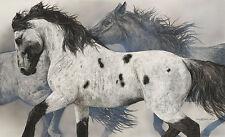 Judy Larson THE GHOST WIND art print Horses #998/1000