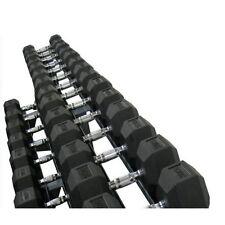 MYO Strength Commercial 2.5 - 20kg Rubber Hex Dumbbell Set *New*