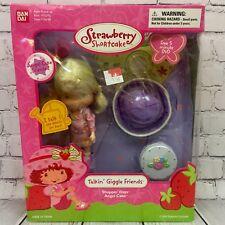 NEW Bandai Strawberry Shortcake 2003 Talkin' Giggle Friends Shoppin' Days Angel