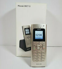 Phonak DECT II Cordless Phone For Hearing Aids - Brand New (Open Box)