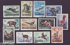 Rumänien Nr.  1565-76  gest.  Jagdbare Tiere