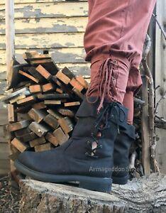 Funtasma RENAISSANCE-50 Men/'s Brown Victorian Medieval Pirate Costume Ankle Boot