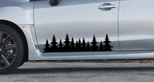Outdoor Forest Tree graphic Decal - Subaru impreza Sti forester woods outback