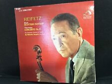 Heifetz Bruch Scottish Fantasy RCA LSC 2603 Concerto 5 Sargent  *rare RED lbl LP