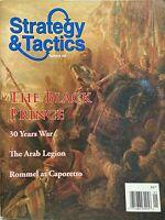 THE BLACK PRINCE January 2010 STRATEGY & TACTICS Magazine 30 YEARS WAR / ROMMEL
