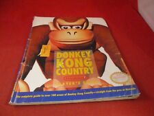 Donkey Kong Super Nintendo SNES Strategy Guide Player's Hint Book #B1