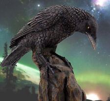 RAVEN ODIN's Messenger Valhalla Native Am Spirit Guide Figure Statue 8729