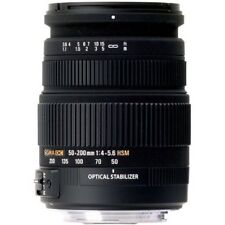 Sigma Zoom 50-200mm 50-200 mm 4-5.6 DC OS HSM für Nikon AF NEU OVP